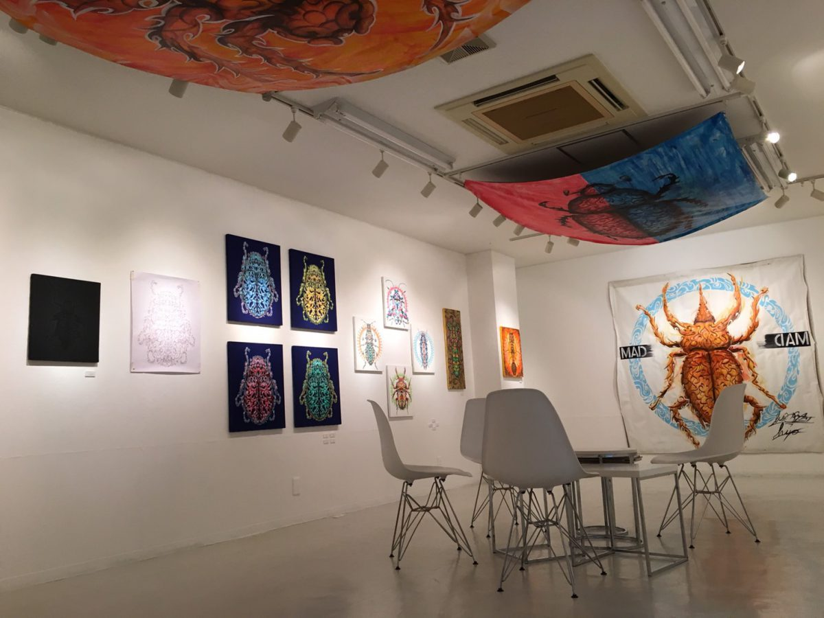 MADBLAST HIRO「BUG」Solo Exhibition